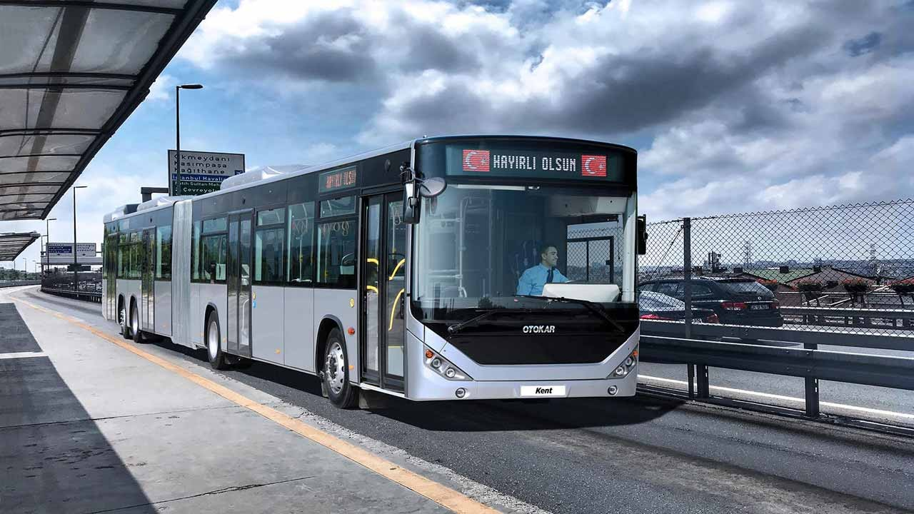 ARTICULATED BUSES TO ISTANBUL